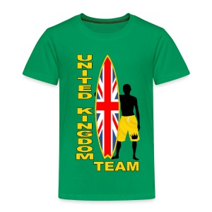 UK surfing team  - Kids' Premium T-Shirt