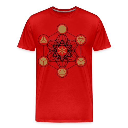 Metatron's Cube - Men's Premium T-Shirt