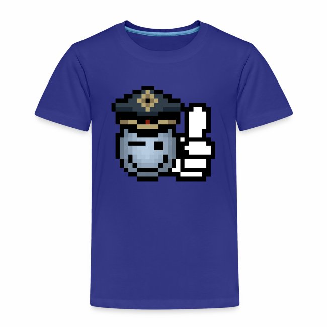 """""""copzone smiley"""" Kinder T-Shirt"""