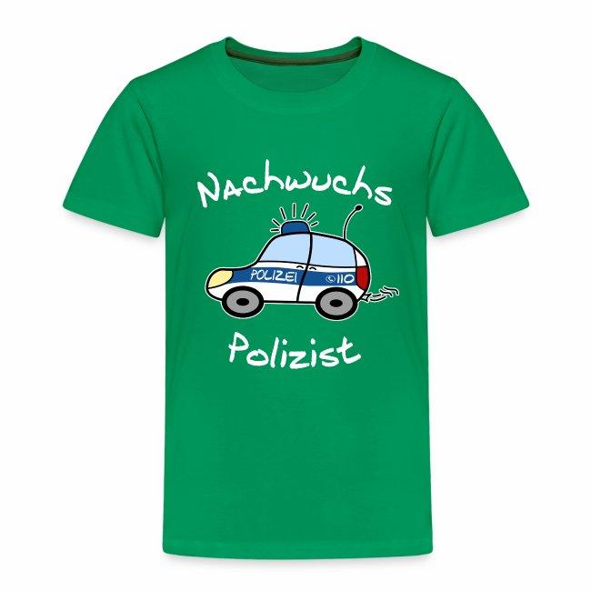 """""""Nachwuchs Polizist"""" Kinder T-Shirt"""