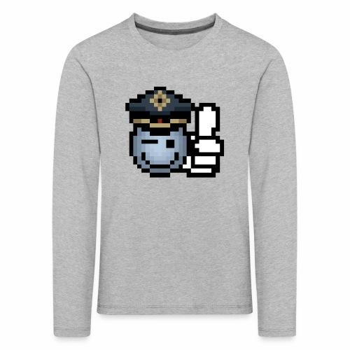 copzone smiley Kinder Langarmshirt - Kinder Premium Langarmshirt