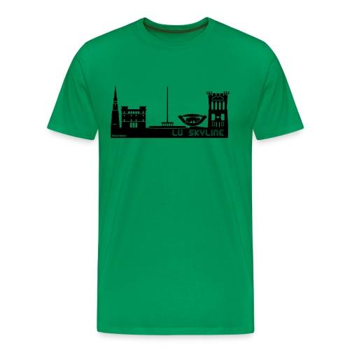 Lu Skyline - Maglietta Premium da uomo