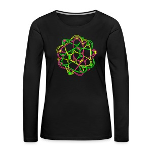 Cyber-Twister-2: Women Long Sleeve - Women's Premium Longsleeve Shirt