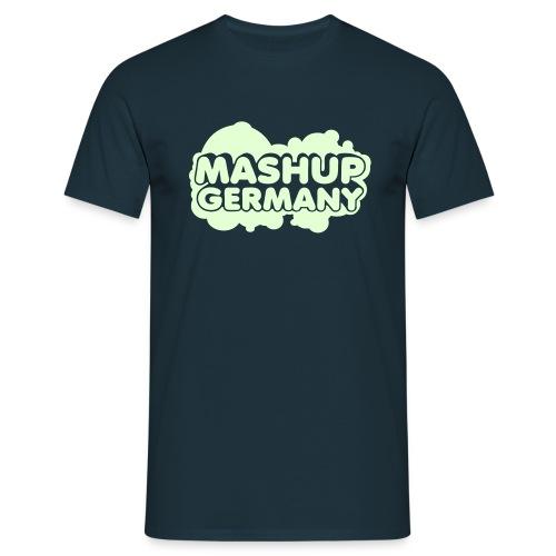 Mashup-Germany Shirt Black/White - Männer T-Shirt