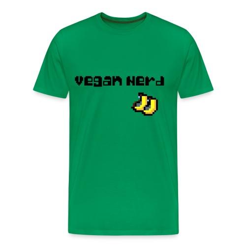 Vegan Nerd - Männer Premium T-Shirt