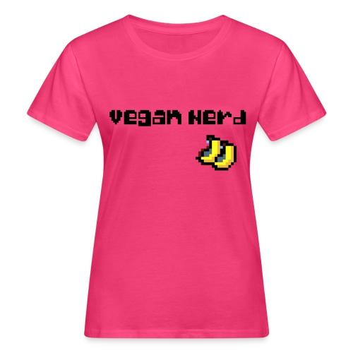 Vegan Nerd - Frauen Bio-T-Shirt