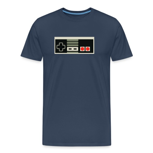 Peliohjain, NES - Miesten premium t-paita