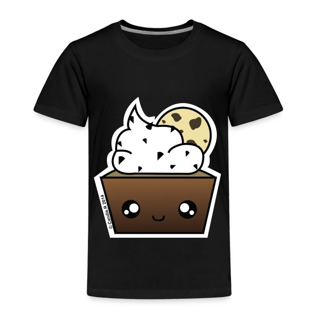 T shirt enfant prenium cupcake Cookie