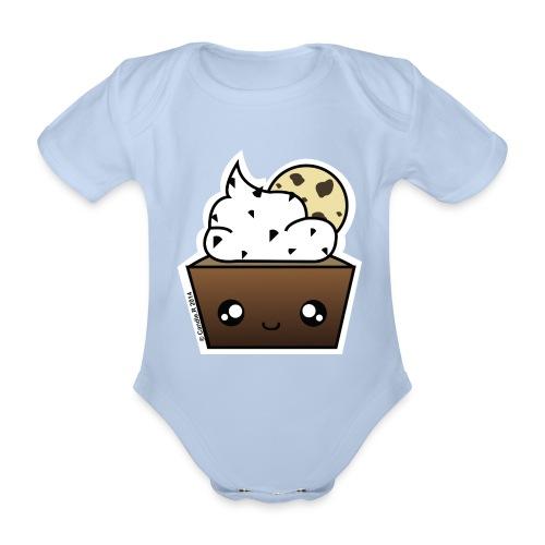 Body manches courtes cupcake Cookie - Body bébé bio manches courtes