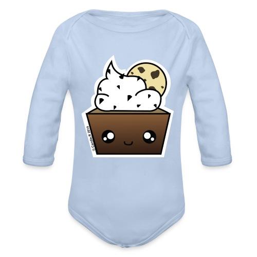 Body manches longues cupcake Cookie - Body bébé bio manches longues