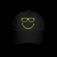 Caps & Hats ~ Baseball Cap ~ Dr. Motte on ACID (neon)