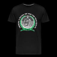 T-Shirts ~ Men's Premium T-Shirt ~ Smoking and Racing