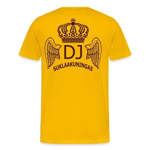 DJ Suklaakuningas -fanipaita - Miesten premium t-paita