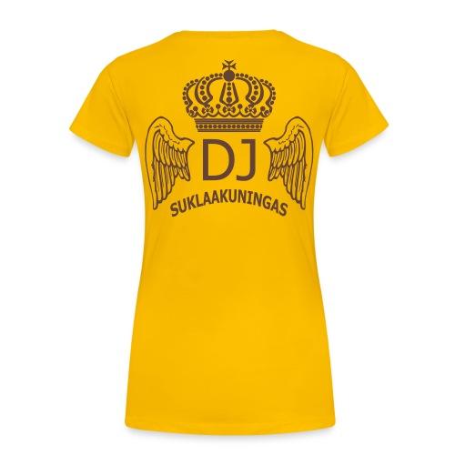 DJ Suklaakuningas -fanipaita naisille - Naisten premium t-paita
