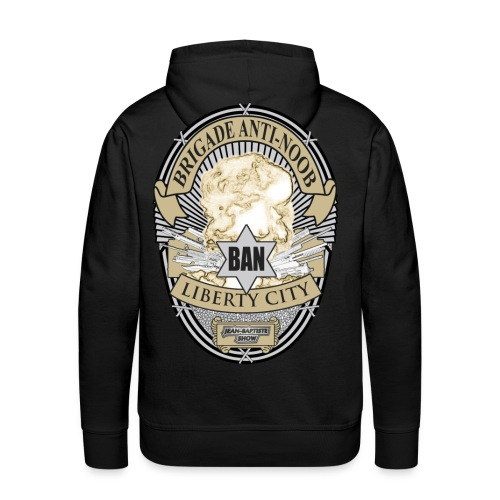 Sweat BAN (Homme) - Sweat-shirt à capuche Premium pour hommes