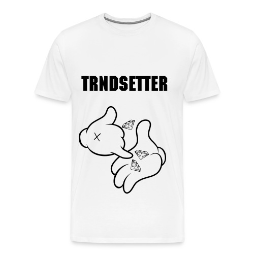 TRNDSETTER OFFICIAL DIAMOND DEALER  - Men's Premium T-Shirt