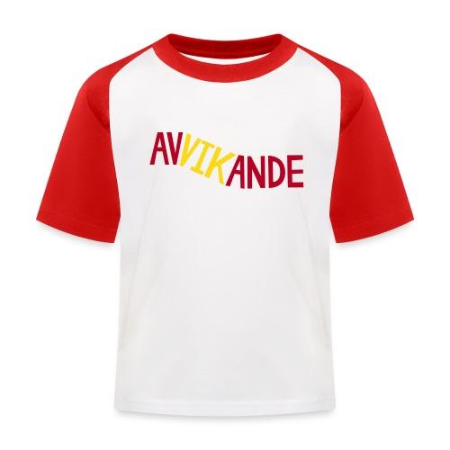 AVVIKANDE T-shirts - Baseboll-T-shirt barn