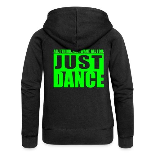 Just Dance - Vrouwenjack met capuchon Premium