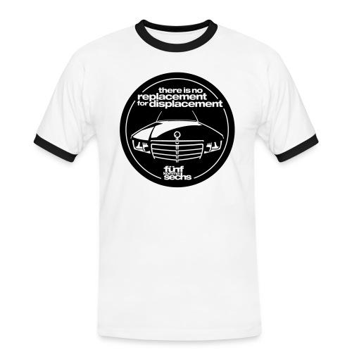 5,6 Hubraum-Shirt Herren - Men's Ringer Shirt
