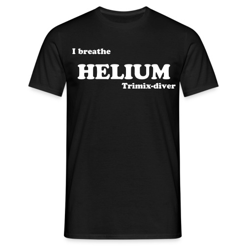 I breathe HELIUM, t-shirt - Herre-T-shirt