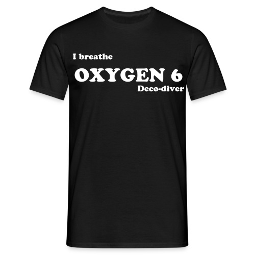 I breathe OXYGEN 6, t-shirt - Herre-T-shirt