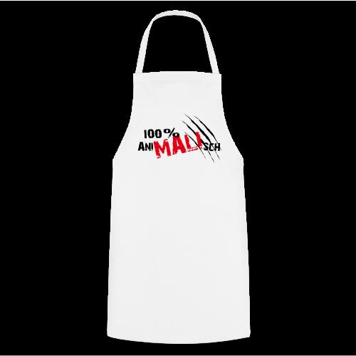 100% Ani-MALI-sch - Kochschürze