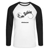 Manches longues ~ Tee shirt baseball manches longues Homme ~ tee shirt annif  homme