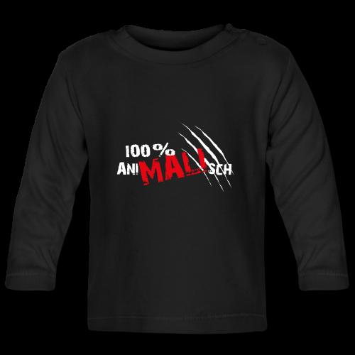 100%aniMALIsch auf schwarz
