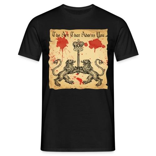 Kiss My Axe - Men's T-Shirt