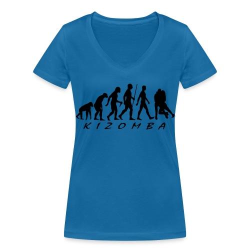 Kizomba - Women's Organic V-Neck T-Shirt by Stanley & Stella