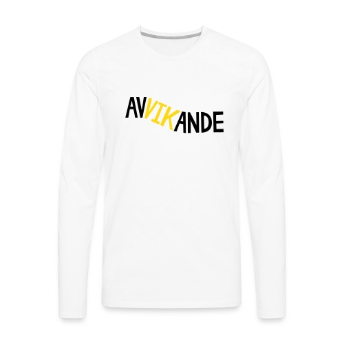 AVVIKANDE Långärmade T-shirts - Långärmad premium-T-shirt herr