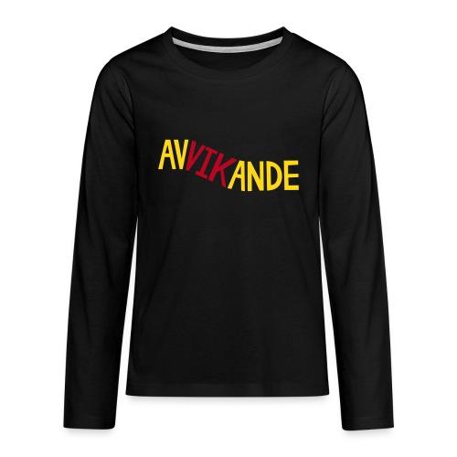 AVVIKANDE Långärmade T-shirts - Långärmad premium-T-shirt tonåring