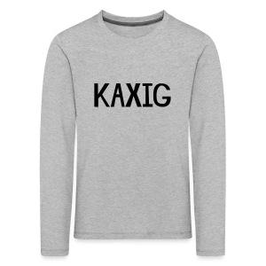 KAXIG Långärmade T-shirts - Långärmad premium-T-shirt barn