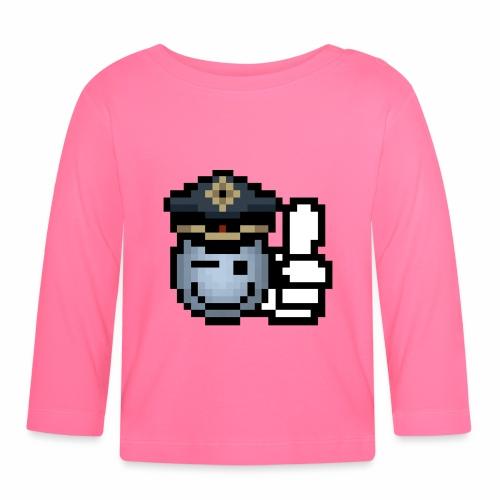 copzone smiley Baby Langarmshirt - Baby Langarmshirt