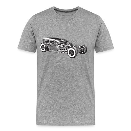 Grey car - Camiseta premium hombre