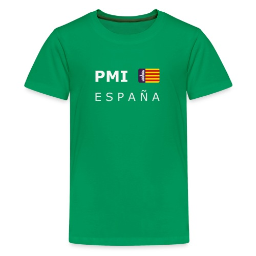 Teenager T-Shirt PMI ESPAÑA MF white-lettered - Teenage Premium T-Shirt