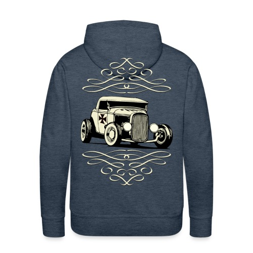 US Old Car - Men's Premium Hoodie