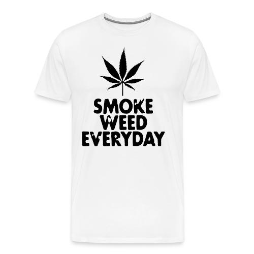 Maglietta smoke weed  - Maglietta Premium da uomo