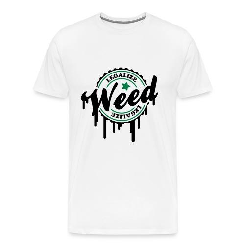 Maglia Legalize  - Maglietta Premium da uomo