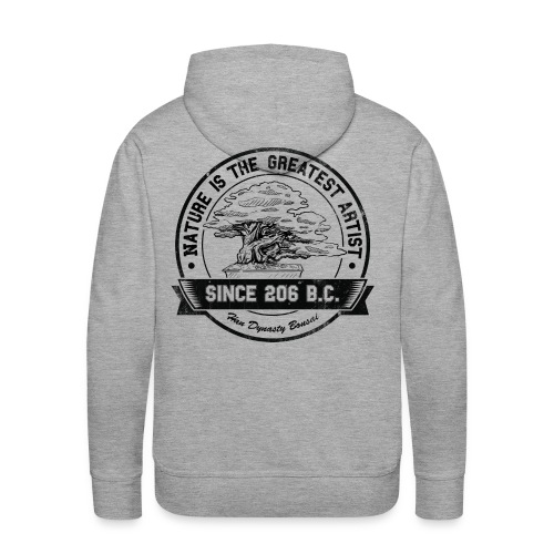 Nature is the greatest artist sweater - Men's Premium Hoodie