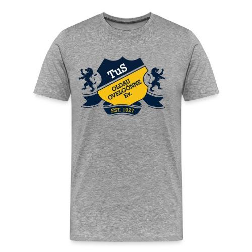Shirt TraditionOldau Grau - Männer Premium T-Shirt