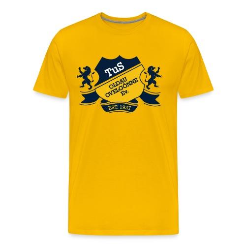 Shirt TraditionOldau Gelb - Männer Premium T-Shirt
