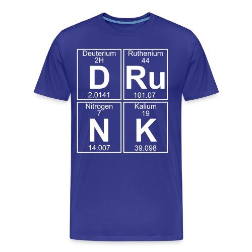 D-Ru-N-K (drunk) - Men's Premium T-Shirt