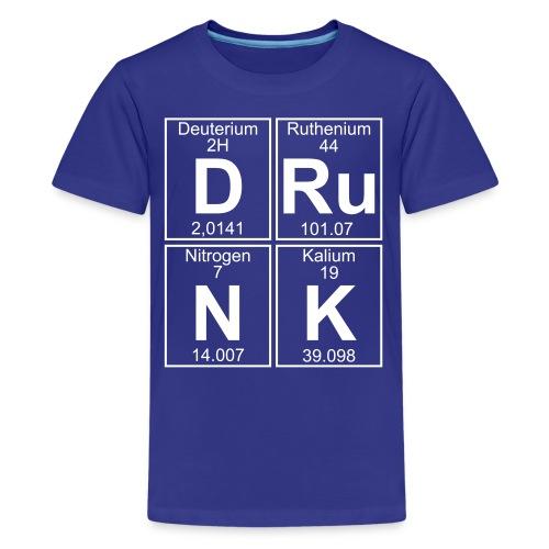 D-Ru-N-K (drunk) - Teenage Premium T-Shirt