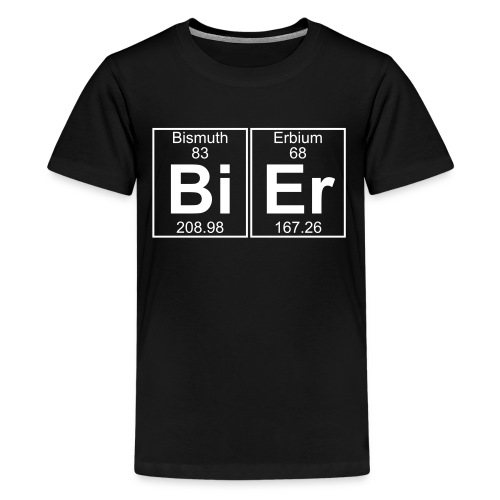 Bi-Er (bier) - Teenage Premium T-Shirt