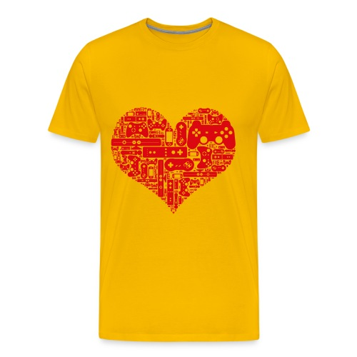Coeur de Geek - T-shirt Premium Homme