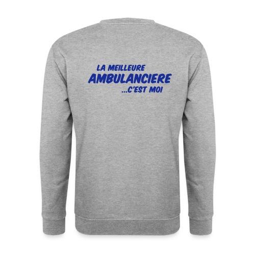 Sweat meilleure ambulancière - Sweat-shirt Homme