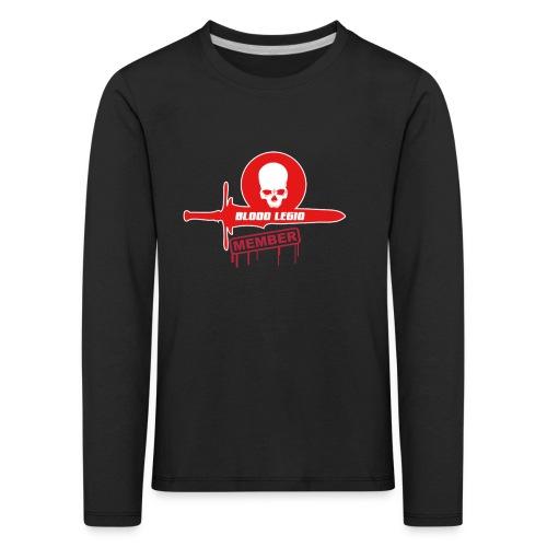 T-shirt membre officiel Manche Longue BlooD LegiO enfant 4 ans - T-shirt manches longues Premium Enfant