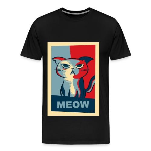 Cat-gatto - Maglietta Premium da uomo