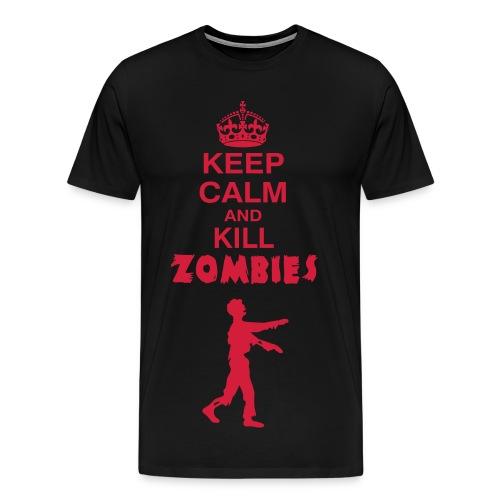 kill zombies - Maglietta Premium da uomo